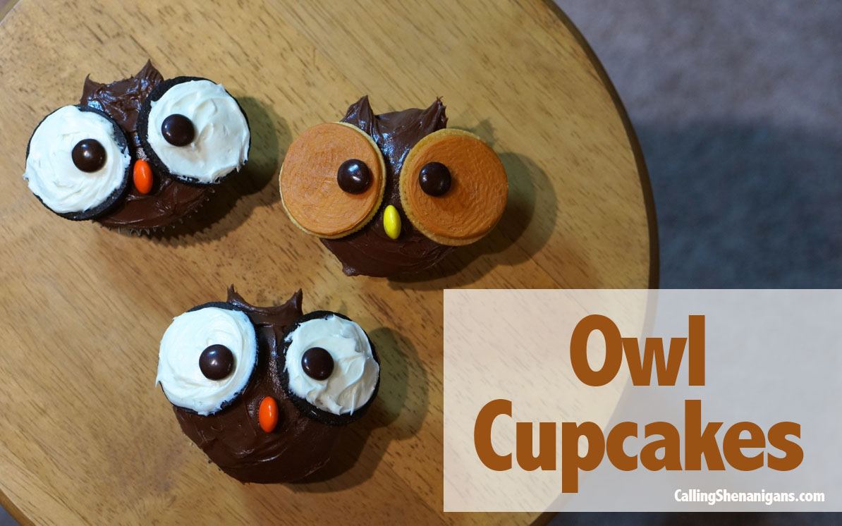 Oreo Owl Cupcakes Were Calling Shenanigans