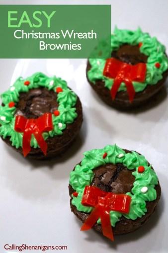 easy-christmas-wreath-brownies