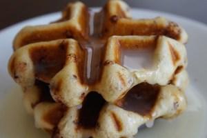cinnamon-waffles