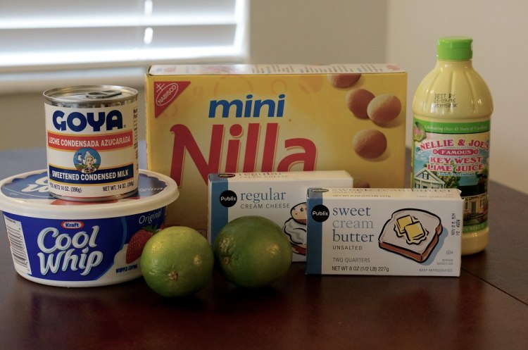 mini-nobake-keylime-pie-ingredients