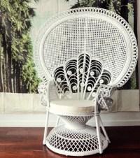 Peacock / Fan Back Chair
