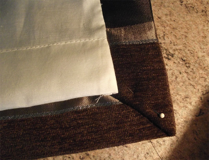 How To Make Lined Curtains Step 7a Of Our Guide To Making Curtains
