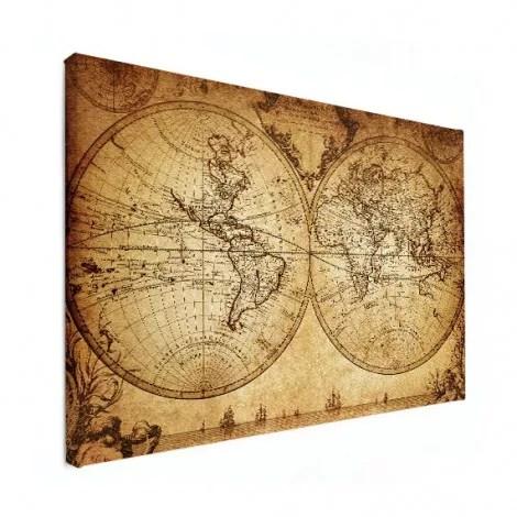 Wereldkaart historisch