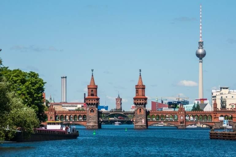 Oberbaum brug Berlijn