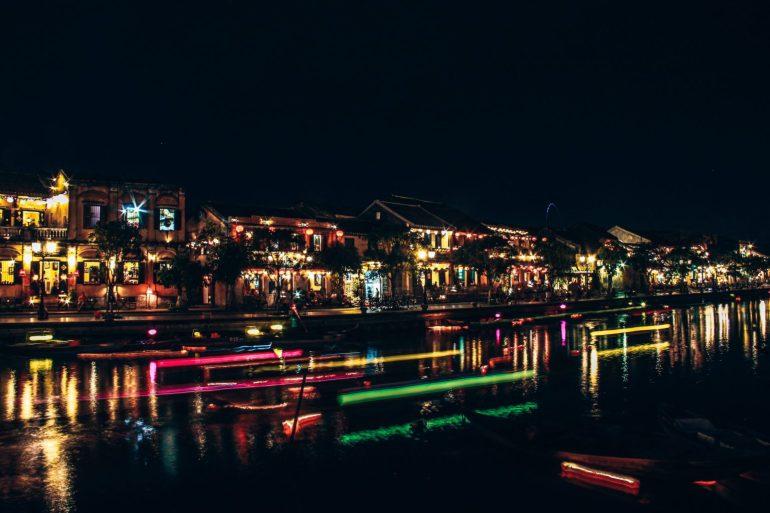 Night market, Hoi An
