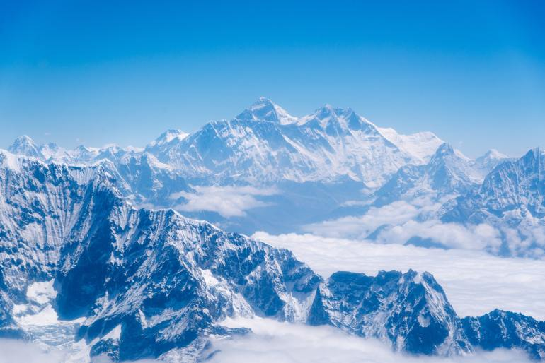 Sagarmatha Mount Everest, nationale parken in Nepal