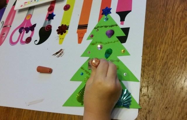 Kerstboom knutselen