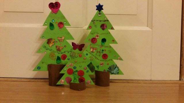 kerst knutselen kerstboom