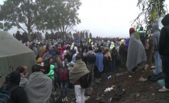 profughi rotta balcanica