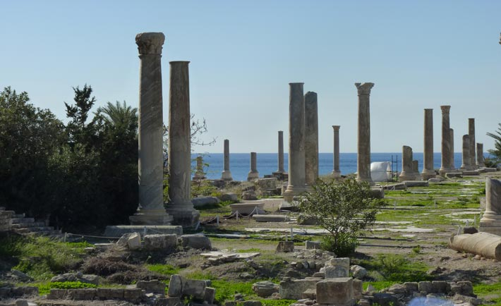 Antiche rovine di Tiro
