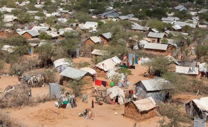 Campo rifugiati di Dadaab a Nairobi (foto di Tom Maruko)