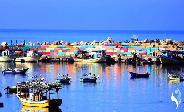 il porto di Gaza
