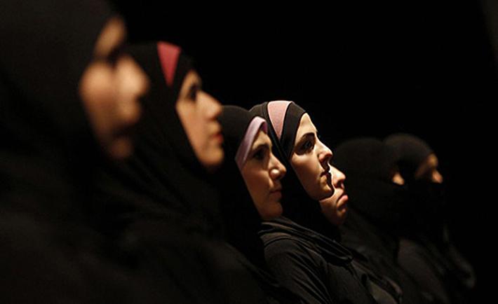 donne siriane