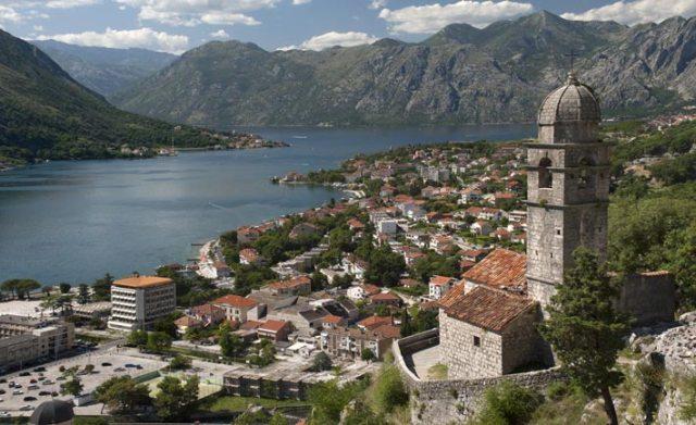 La città di Kotor (Montenegro)