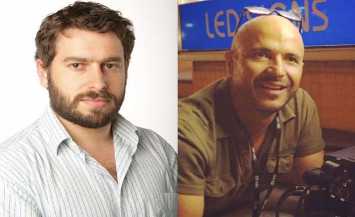 Nella foto (da sinistra) Linton Besser e Louie Eroglu (doto fa giornalistitalia.it)