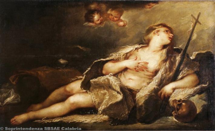 """""""Maddalena col crocifisso"""" - Luca Giordano"""