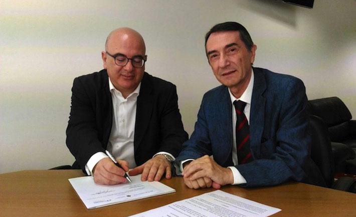 Carlo Parisi e Giuseppe Rotta