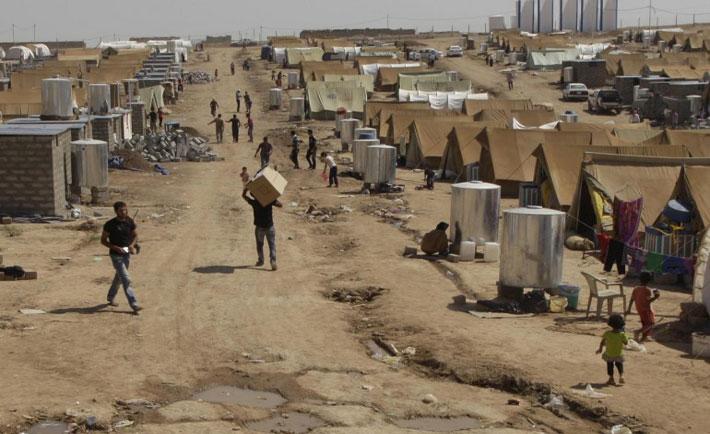 campo profughi in giordania