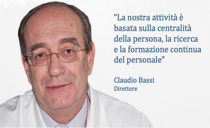 Professor Claudio Bassi