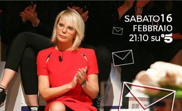c'è posta per te, sabato 16 febbraio, ospiti, news, anticipazioni