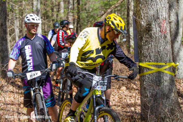 Checking in on the first bonus stage of the Rattling Creek Enduro!
