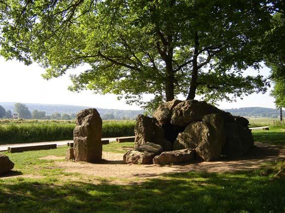 De dolmen van Weris