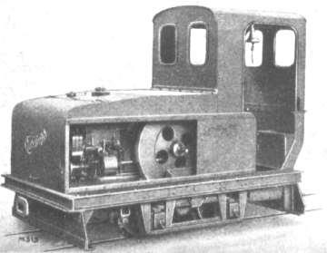 Hersteller: Christoph - 600mm-Rohöl-Lok, 7 PS, 2,75 t
