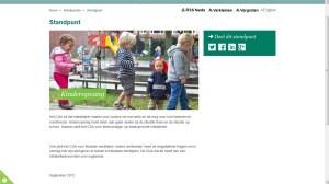 Screenshot website CDA dd 04-09-2013