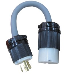 3 phase to single phase adapter plug [ 1000 x 1000 Pixel ]