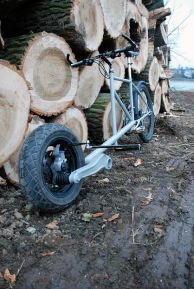 Sports Utility Bike aka THESUB  postfossil mobil