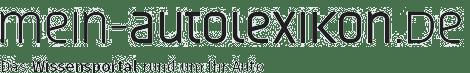 Logo mein-autolexikon.de – Claim: Das Wissensportal rund um Ihr Auto