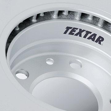 Bremsscheibe mit TEXTAR-Beschriftung