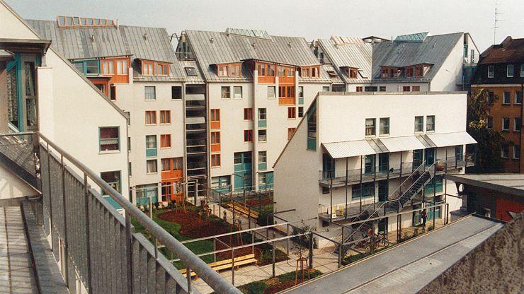 Wohnanlage St Peter  Studentenwerk ErlangenNrnberg