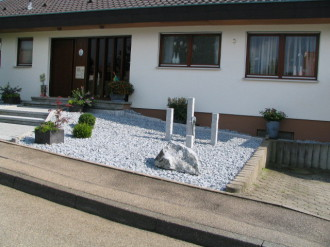 vorgarten steinen gestalten | moregs, Garten und bauen