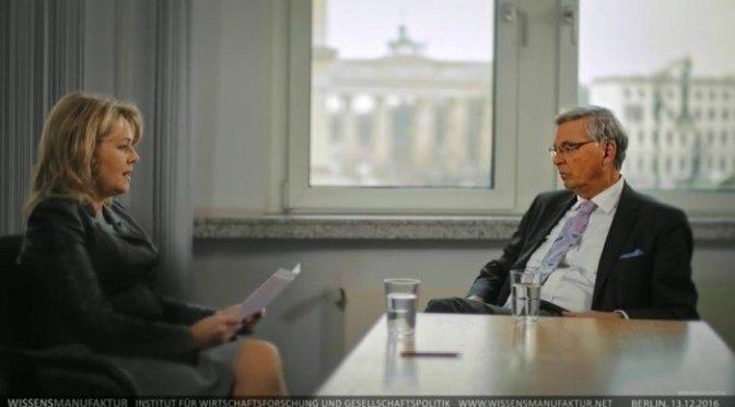 Eva Herman trifft Wolfgang Bosbach: Und der Mainstream schäumt