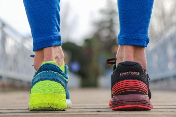 La rotazione delle scarpe da running