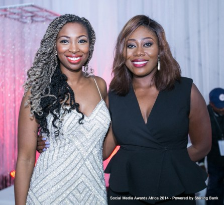Hosts Bolanle Olukanni and Gbemi Olateru