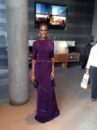Agbani Darego at the 2014 Miss World