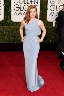 Amy Adams attends the 72nd annual Golden Globe Awards