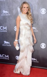 Carrie Underwood in Oscar De La Renta at the Academy of Country Music Awards