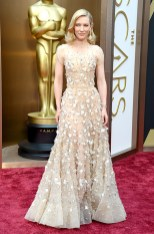 Cate Blanchett in Armani Prive at the 2014 Oscars