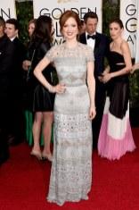 Ellie kemper attends the 72nd annual Golden Globe Awards