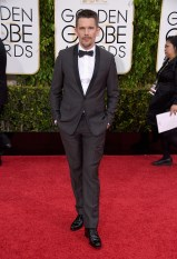 Ethan Hawke attends the 72nd annual Golden Globe Awards