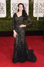 Lauren Prepon attends the 72nd annual Golden Globe Awards