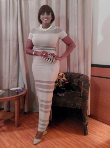 Waje in Dolce and Gabana