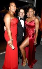 Queen Latifah, Serena Williams and Brett Ratner