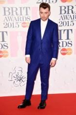 Sam Smith at the 2015 Brit awards