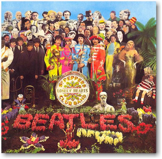 Sgt. Pepper album cover