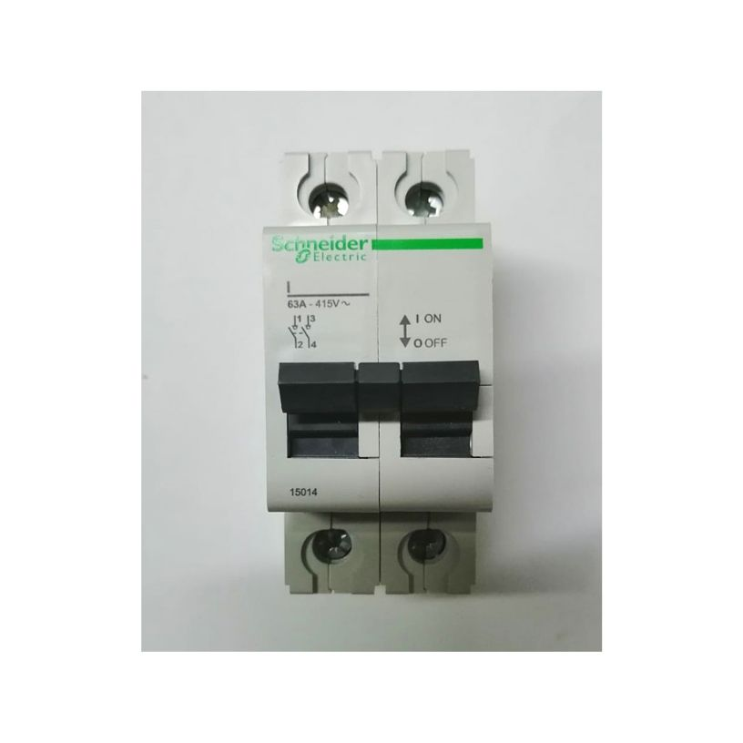 Schneider 2P 63A Isolator - We Sell Dead Lots