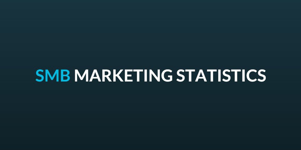 SMB Marketing Statistics